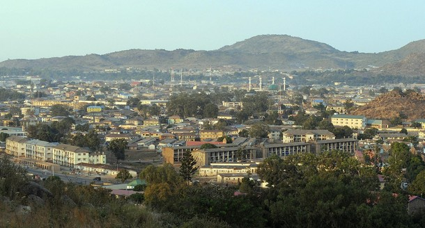 """Photo shows a general view of Jos, Plateau State on November 30, 2008. Some 200 people were killed in two days of post-election violence in the central Nigerian city of Jos, the Plateau State information minister said, giving the first official toll. Calm appeared to have returned to the city of two million which is the capital of Plateau State and lies in Nigeria's """"middle belt,"""" between the predominantly Muslim north and mainly Christian south.   AFP PHOTO / PIUS UTOMI EKPEI (Photo credit should read PIUS UTOMI EKPEI/AFP/Getty Images)"""