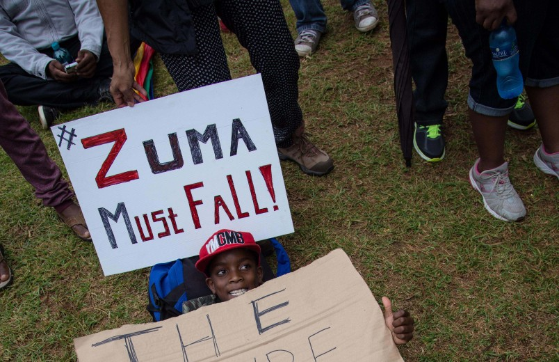 #Zumamustfall – 3 finance ministers in the past week