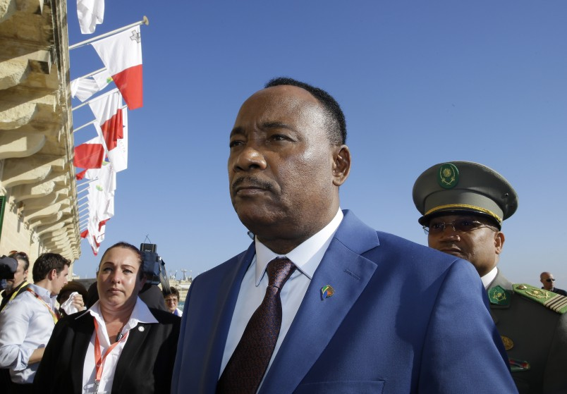 Niger's Issoufou calls for 'Marshall Plan' for African nation