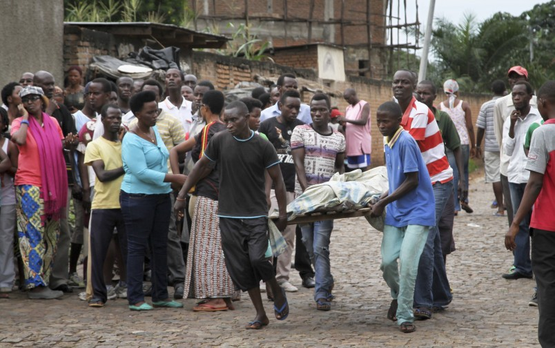 "Burundi on the ""cusp of civil war"""