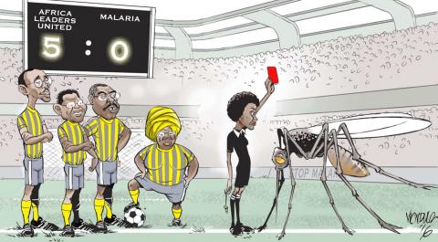 African Leaders Malaria Alliance (ALMA) - Cartoon