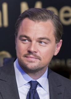 US Actor Leonardo DiCaprio poses for media after the Crystal Awards ceremony at the World Economic Forum in Davos, Switzerland, Tuesday Jan. 19, 2016. The world's political and business elite are being urged to do more than pay lip service to growing inequalities around the world as they head off for this week's World Economic Forum in the Swiss ski resort of Davos this week. (AP Photo/Michel Euler)