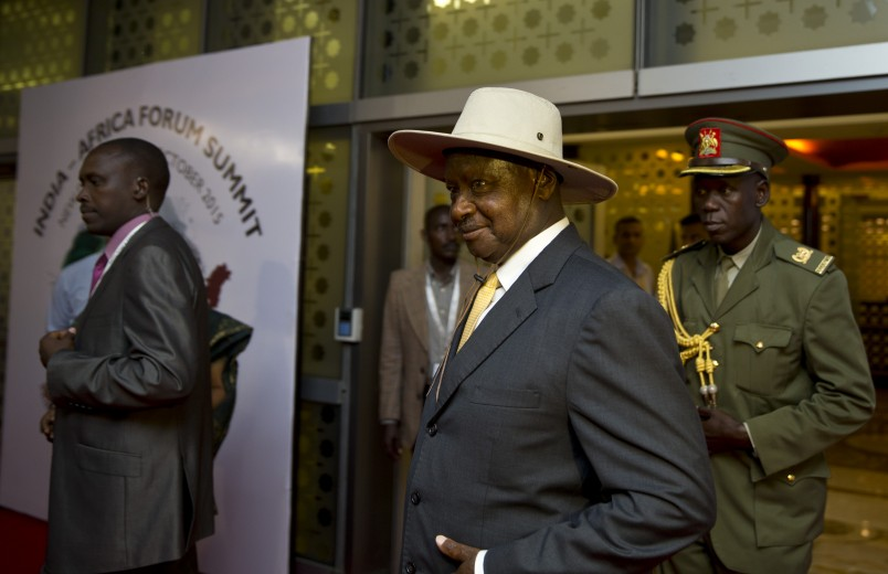 Ugandan president skipping presidential debate again