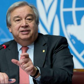 Climate, conflict are priorities as Guterres steps up to head UN