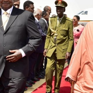 Uganda's Museveni: African prosperity more important than identity