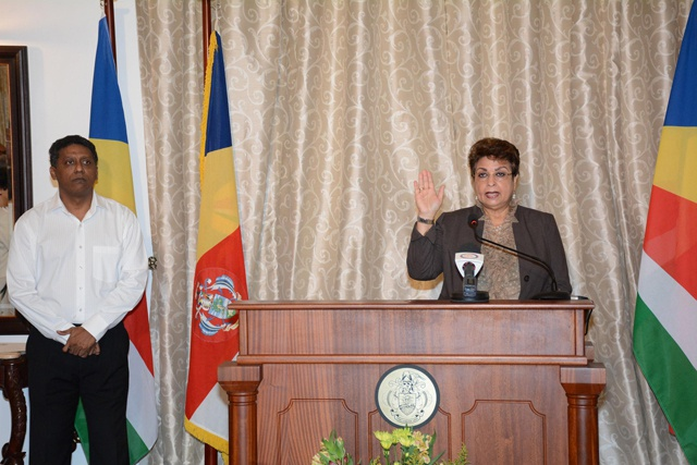 Seychelles makes history with first female Designated Minister