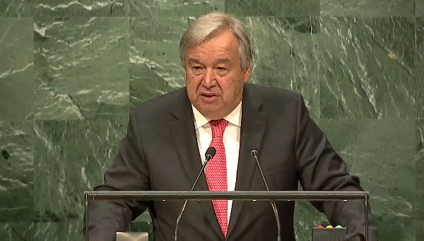 Guterres vows to build bridges as UN appoints new Secretary General