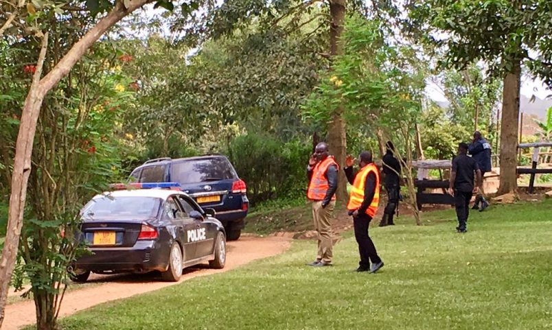 Ugandan police surveillance continues as Kizza Besigye returns