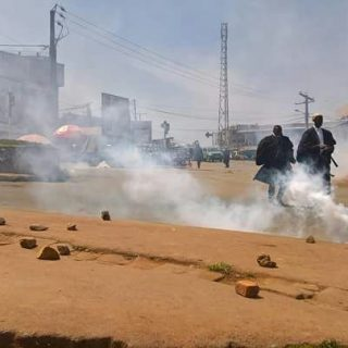 Cameroon citizens join lawyers' protest in streets of Bamenda