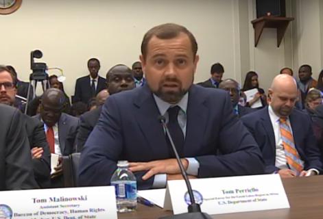 Deep concern: Envoy, NGOs warn U.S. Congress of need to act on DRC