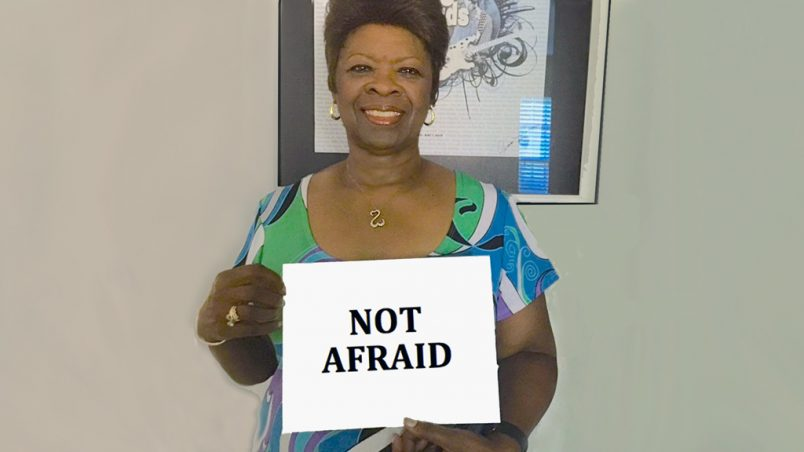 Nigerian Fashek inspires stars in 'We Are Not Afraid' campaign