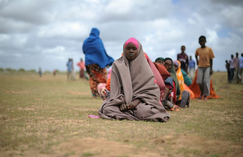 Somali president appeals for aid as drought crisis escalates
