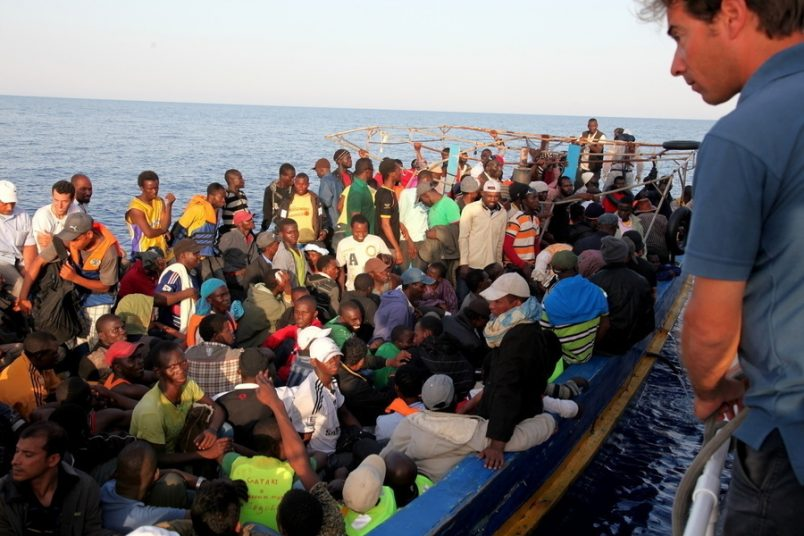 Mediterranean migration spike seen among Nigerians, West Africans