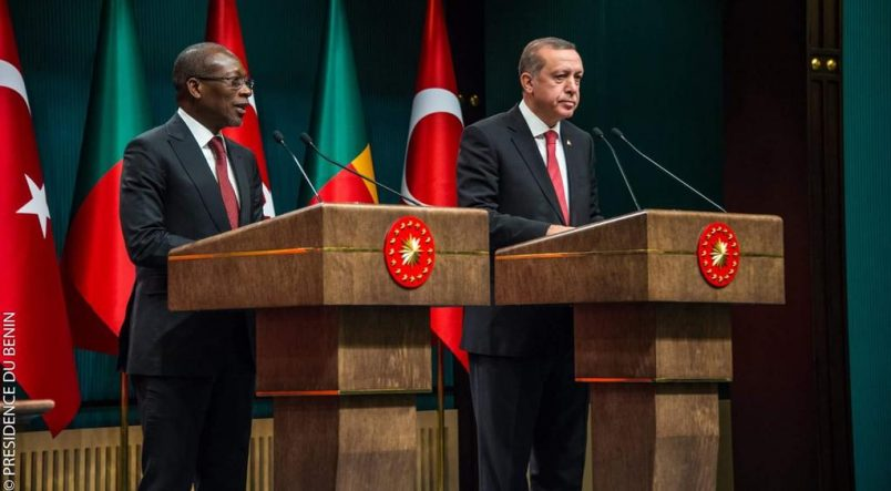 Benin's president Talon, Erdogan strengthen ties during Ankara visit