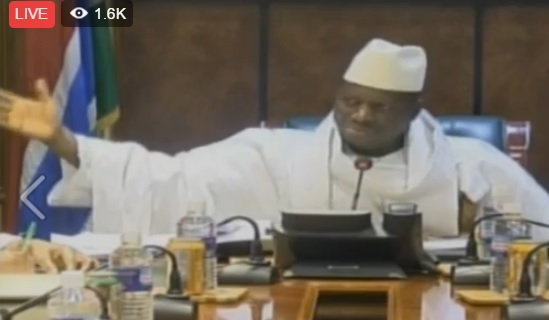 Jammeh defies ECOWAS: 'Who are they to tell me to leave my country?'