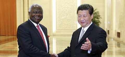 #China welcomes Sierra Leone; Gabon's Bongo next to visit Beijing