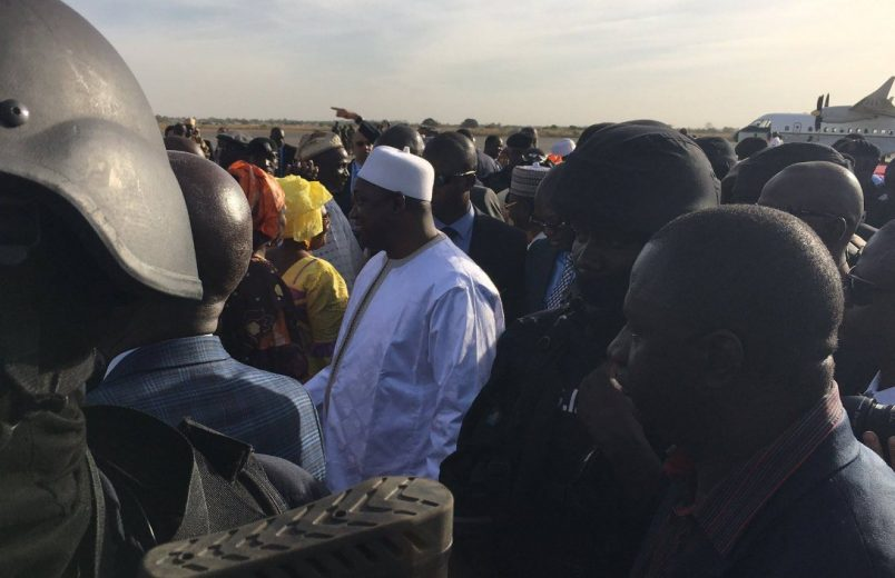 #Barrow says he is 'a happy man' upon return to The #Gambia