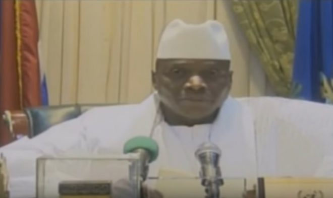 Gambia's #Jammeh calls ECOWAS stance a 'declaration of war' in New Year address