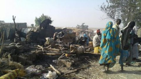 Update: At least 90 dead at Borno IDP camp after Nigeria bombing accident