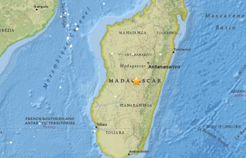 Shaking wakes Madagascar as 5.5-magnitude earthquake hits central highlands
