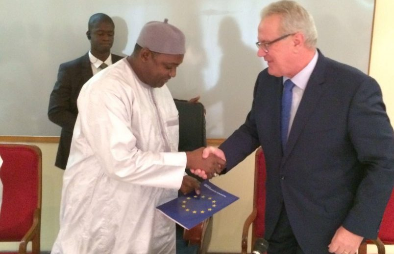 EU pledges €225 million in support of The Gambia's economic recovery