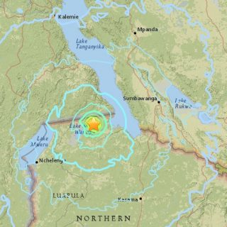 Zambians shaken from their sleep by 5.9-magnitude earthquake