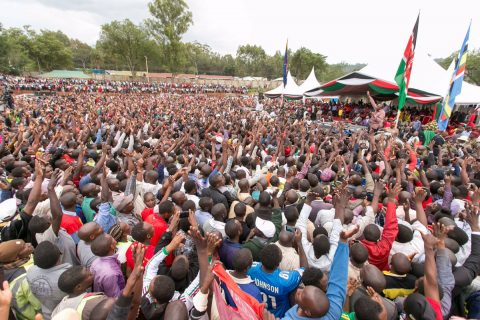 Kenyatta, opposition leader Odinga spar over 2007 electoral violence