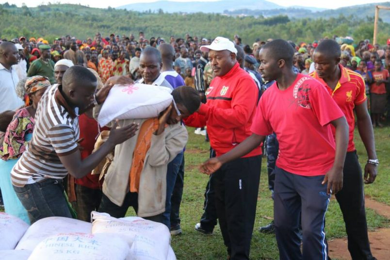 Rwanda-Burundi tensions reflected in war of words over food