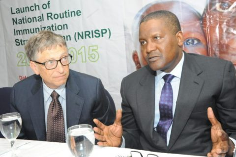 Dangote and Gates: Hopeful About Improving Health in Africa