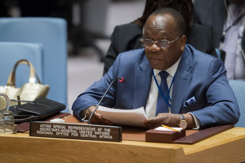 UN envoy appeals for an end to Cameroon political crisis