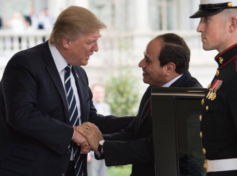 El-Sisi visits with Trump, Abdullah may renew Middle East peace process