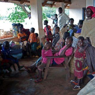 C.A.R refugees fleeing violence into neighboring DR Congo