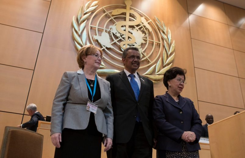 Tedros elected to WHO Director General post