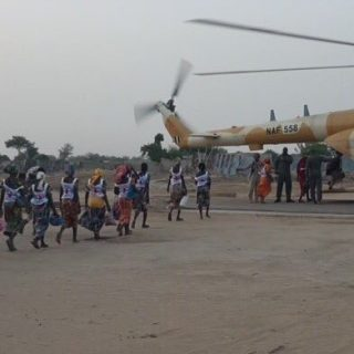Chibok release: A long journey begins with the first steps on the tarmac