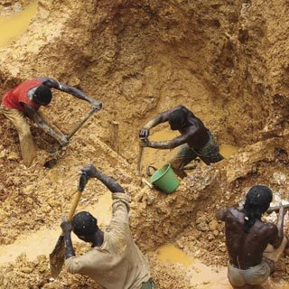 Ghana's military denies reports of its involvement in illegal mining