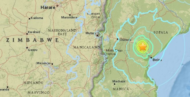 Mozambique: Beira residents describe waking to 5.6-magnitude quake