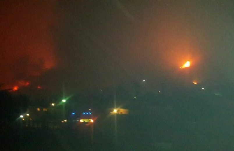 Knysna mayor: 'I have no words' over swift, destructive SA wildfire