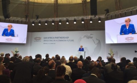 Merkel makes G20 'Compact for Africa' case in Berlin