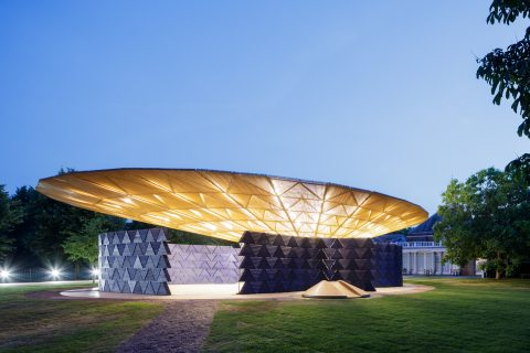 Architect Kéré unveils Serpentine Pavilion inspired by Burkina Faso