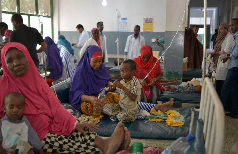Somalia's cholera outbreak linked to drought, climate