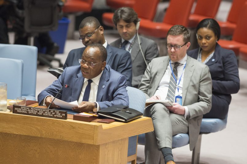 Central Africa envoy urges UNSC to stay focused on LRA rebel threat