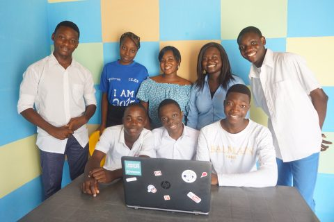 No. 7 Team Benin leads the pack of Africa's FIRST Global robotics winners