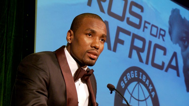 NBA star Ibaka slams stereotypes about Africans: 'I was not born in a jungle'