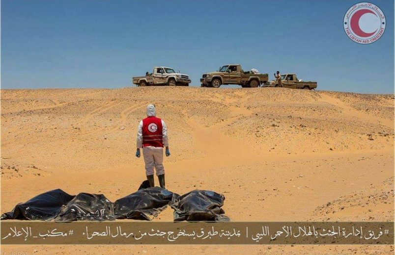 48 Egyptian migrant workers found dead in Libyan desert