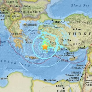 Fatal Turkey quake causes tsunami; 2 dead, some 500 injured