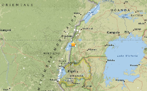 Sunday morning quake disrupts Ugandan prayers, shakes Kigali neighbors