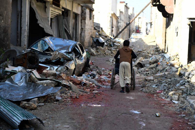 Botswana helps to fund investigation into Syria war crimes
