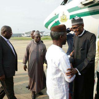Nigeria anticipates a returned Buhari's address to the nation