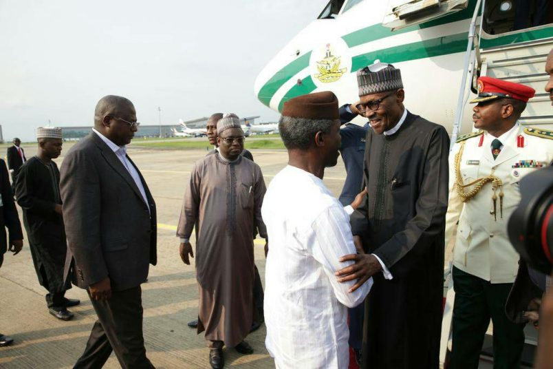 Buhari plans 2019 election run, heads for official London visit