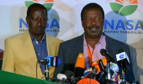 Nasa's Odinga demands IEBC declare him winner of Kenya's election